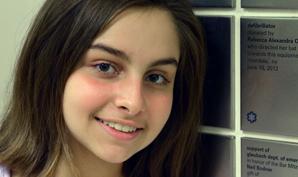 Mitzvah star - Rebecca Orlan
