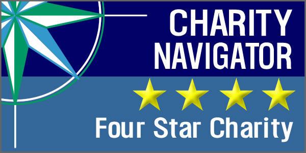 Charity Navigator's Highest Rating…For The FIFTH Time