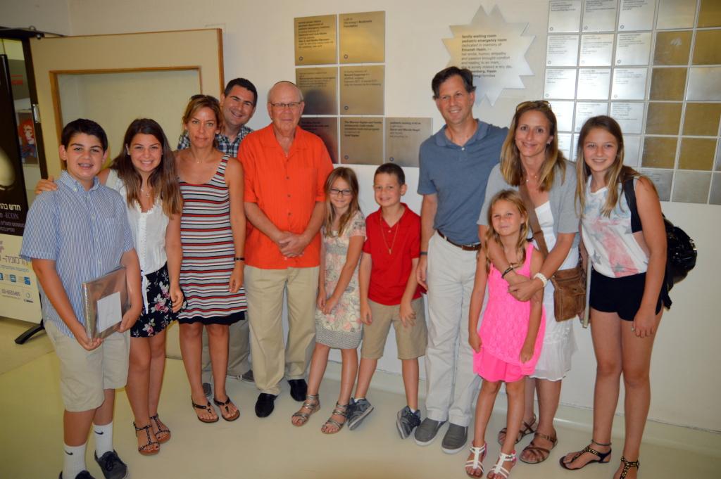 Mannon Kaplan LA Family visit