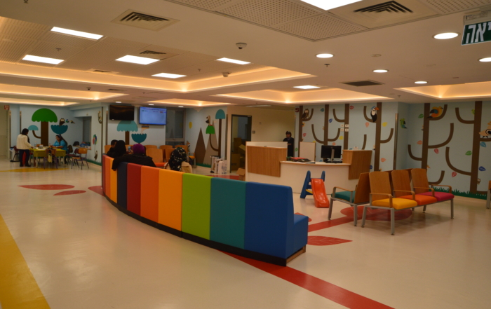 The Hospital Kids Don't Want to Leave: The Friedman Family Outpatient Pavilion of the Wilf Children's Hospital at Shaare Zedek