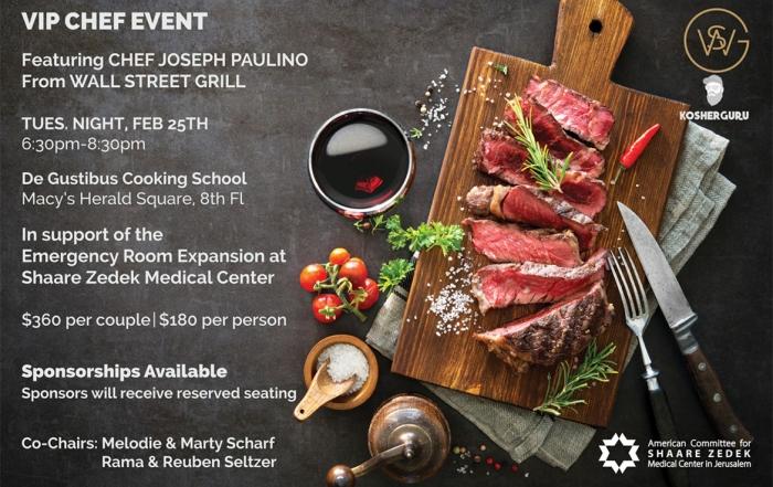 VIP Chef Event