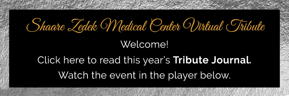 Welcome. Click here to read this year's Tribute Journal. Watch the event below.