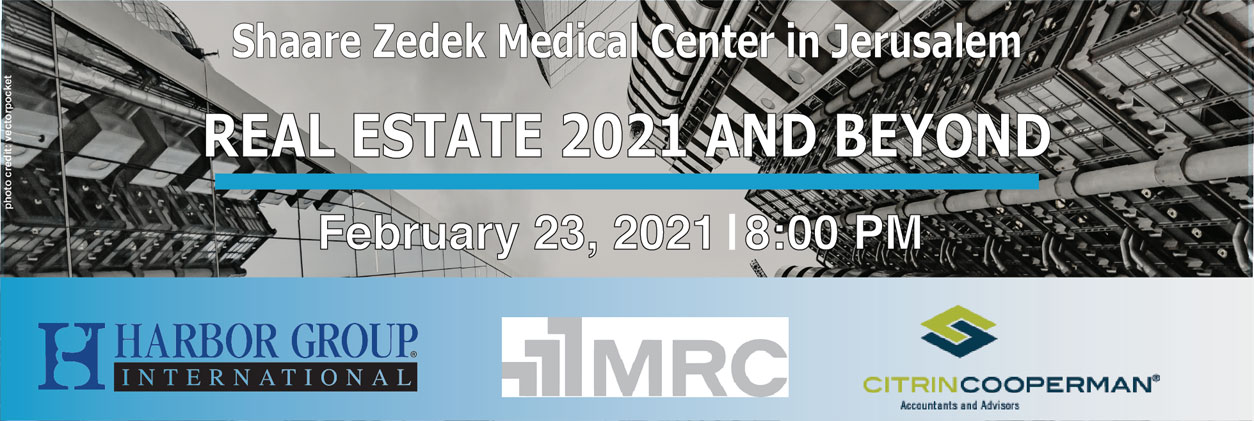 Real Estate 2021 and Beyond - February 23, 2021 | 8:00 PM