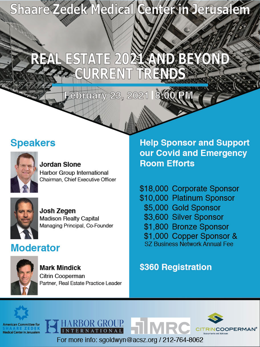 Real Estate 2021 and Beyond - Current Trends