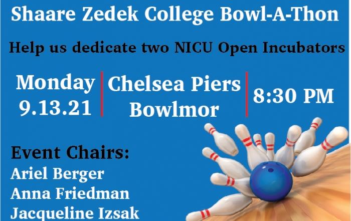 Shaare Zedek College Bowlathon