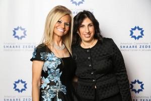 Randi Luxenberg, Recipient of the Heart of Jerusalem Award with American Committee for Shaare Zedek President Debbie Kestenbaum